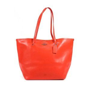 COACH True Red Buttery Soft Leather Tote
